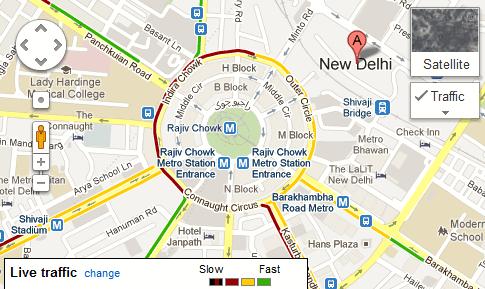 live traffic india