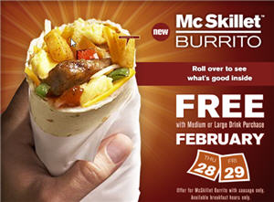 McDonalds Free Deal