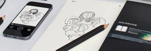 moleskine smart notebook
