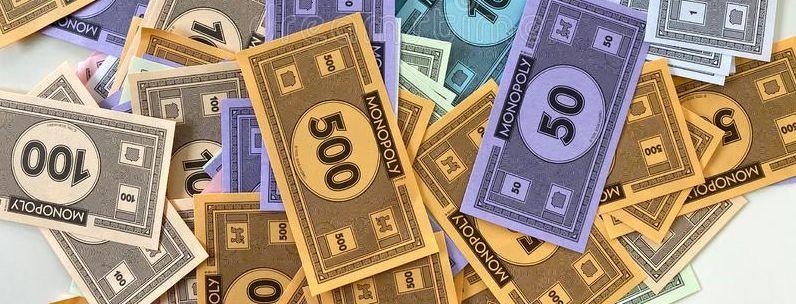 monopoly paper money
