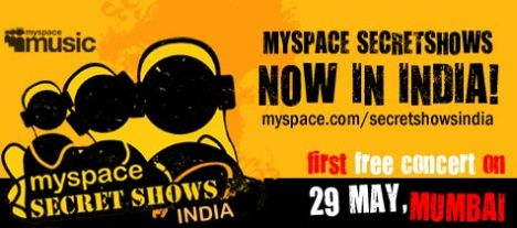myspace secretshow india
