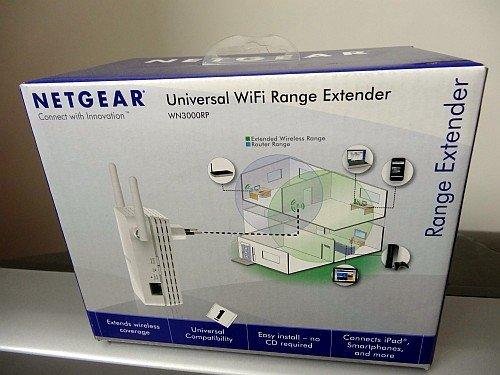 netgear wifi extender box