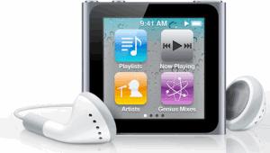 new multitouch ipod nano