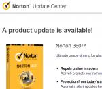 norton product update