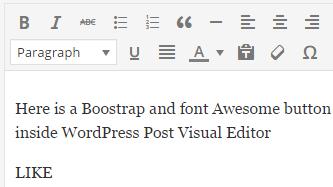 nostyle wordpress editor