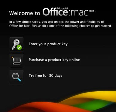 Office Mac free trial