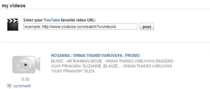 Orkut videos