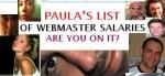 Paula's BLogger Salary List