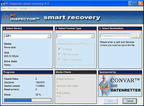 PCinspector Smart Recovery