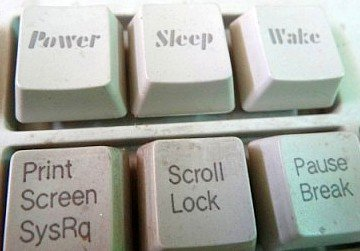 power  sleep wake keys