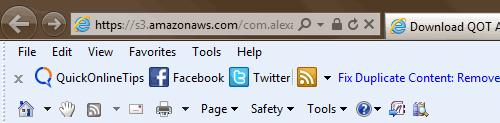 qot alexa toolbar