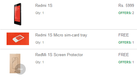 redmi free screen protector and Sim tray