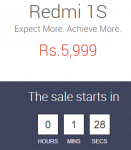 redmi 1s sale