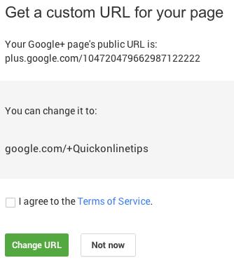Saver Google+ url
