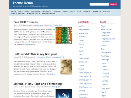 QuickPress wordpress theme