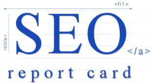 seo report card