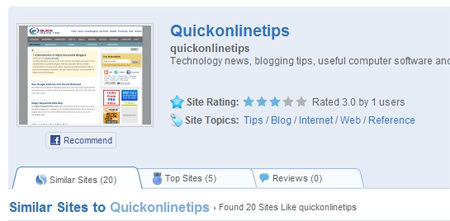 How to Find Similar Websites Based on Your Preferences