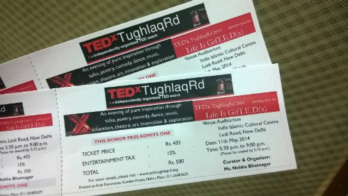 tedx tickets