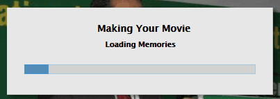 timeline movie loading