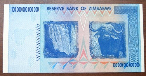 I Own 100 Trillion Zimbabwe Dollars