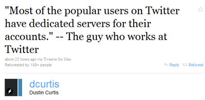 twitter server