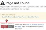 wayback archive links