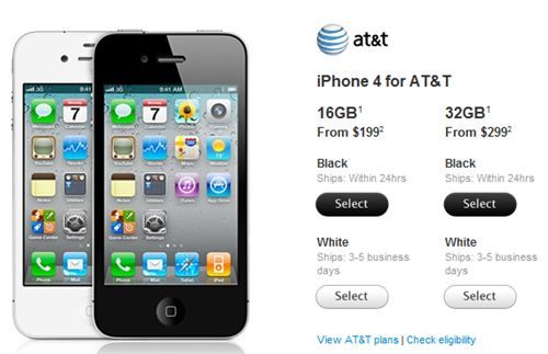 apple iphone 4 verizon wireless. The Apple White iPhone 4 is