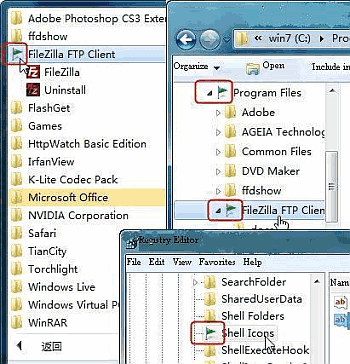 Add folder mark to windows7