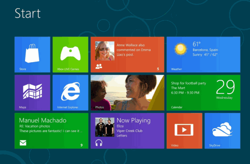 start windows8