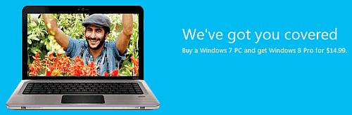 Windows 8 upgrade
