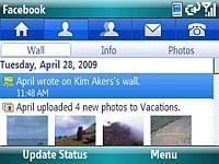windowsmobile facebook
