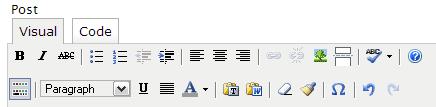 Hidden WordPress Buttons