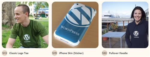 wordpress swag store