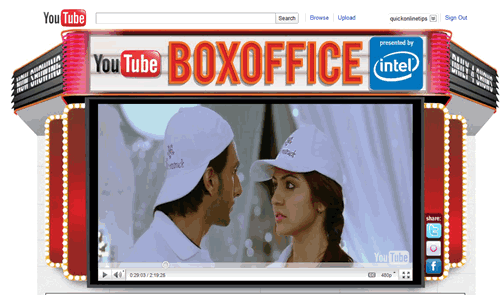 youtube box office